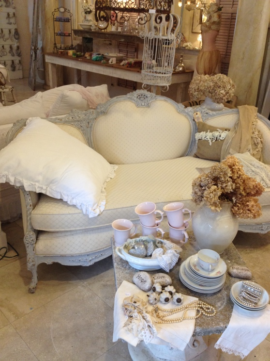 Couch of White