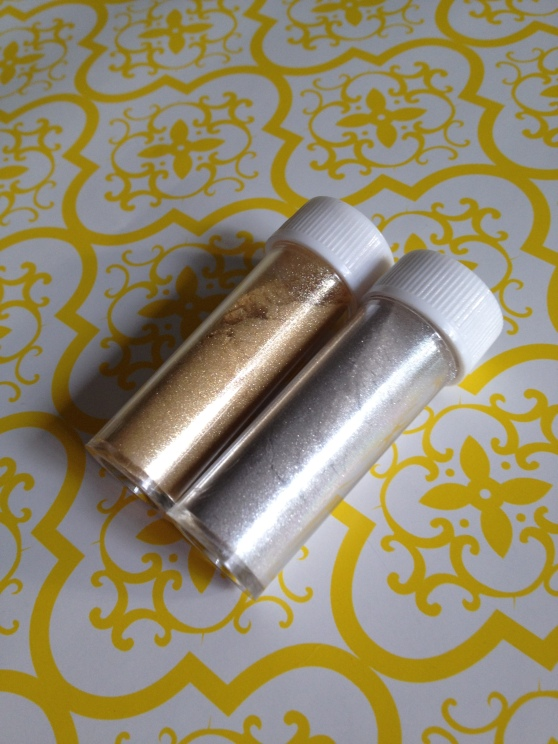Gold and Silver Dust
