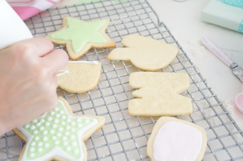 Icing on Sugar Cookies