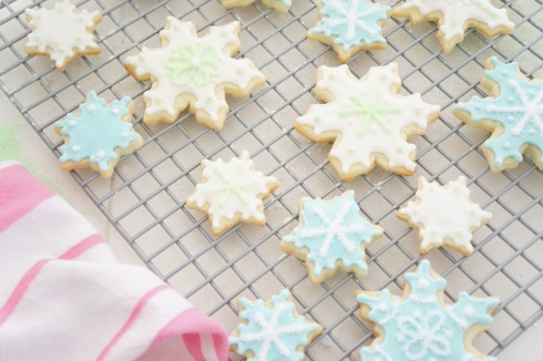 Delicate Cookies with Royal Icing